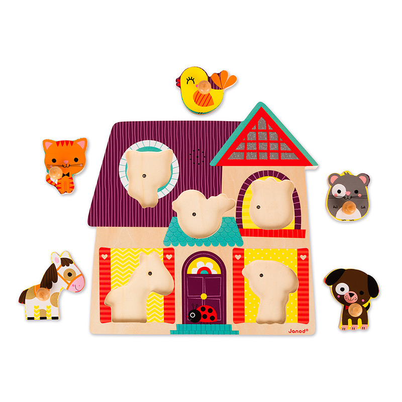 Puzzle Sonoro: Animales Domésticos