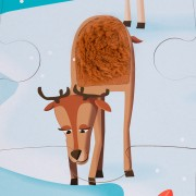 Puzzle Táctil Gigante: En el Hielo
