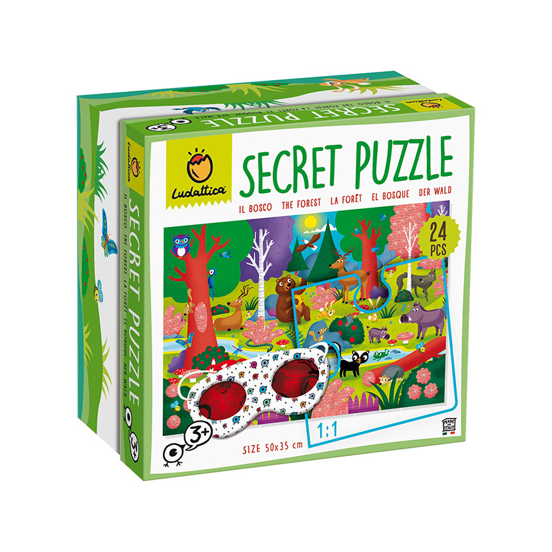 Secret Puzzle: El Bosque