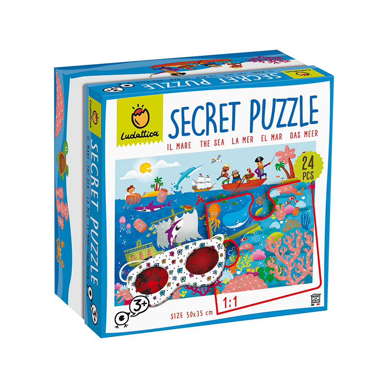 Secret Puzzle: El Mar