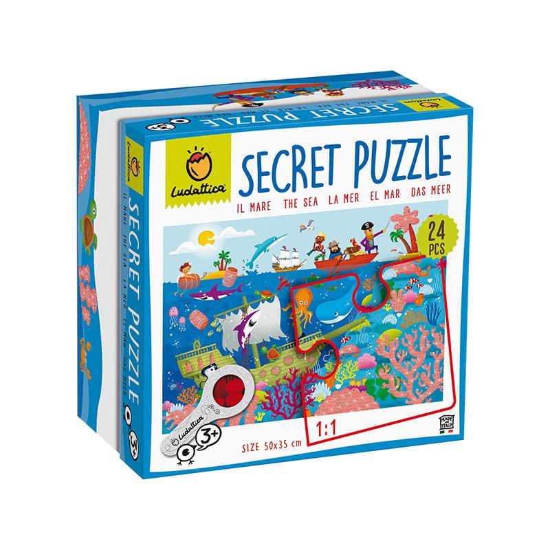 Secret Puzzle: El Mar