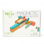 Set de 24 Bloques Magnéticos: Sunset