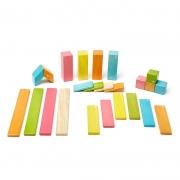 Set de 24 Bloques Magnéticos: Tints