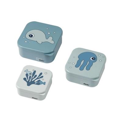 Set de 3 Fiambreras Sea Friends Azul