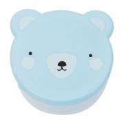 Set de 4 Fiambreras: Oso Azul