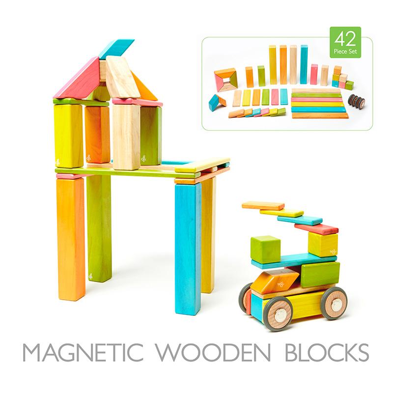 Set de 42 Bloques Magnéticos: Tints