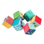 Set de 6 Cubos Blanditos: Tótem