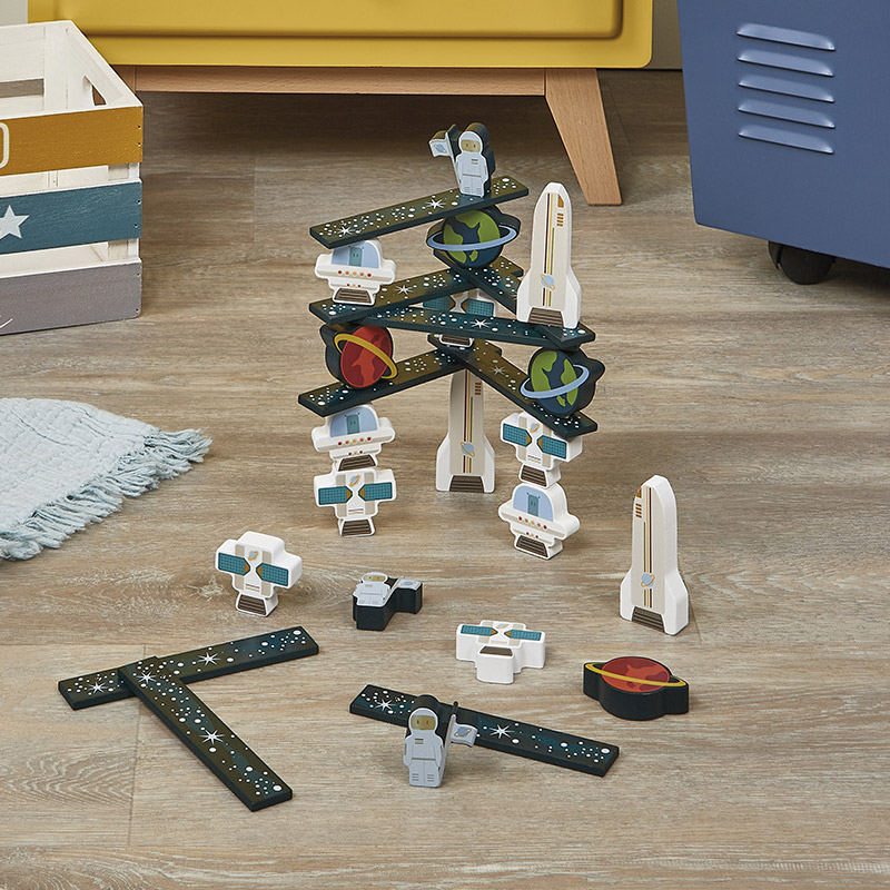Set de Construcción Espacio