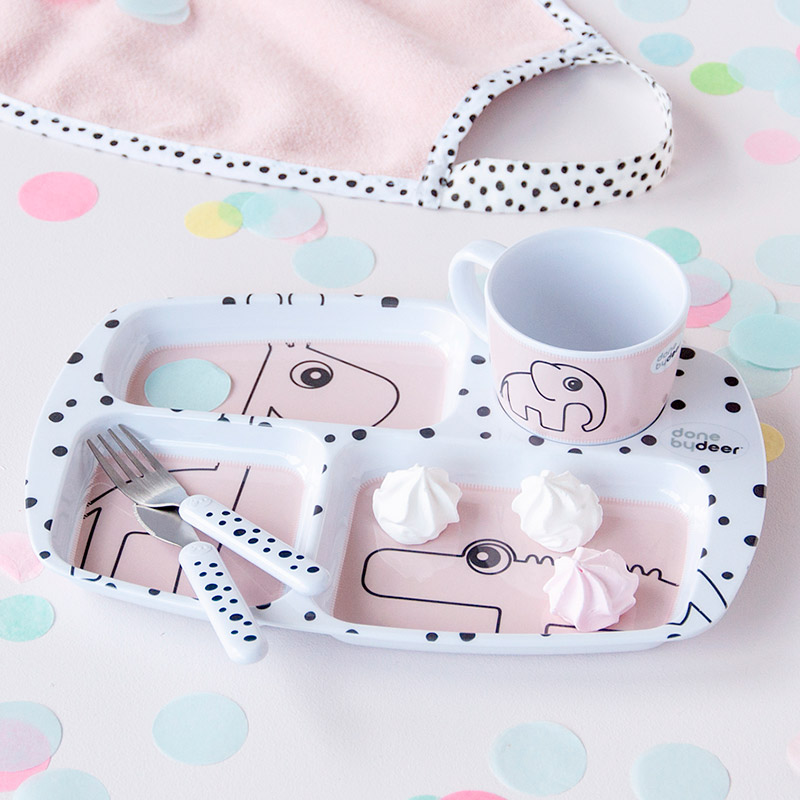 Set de Cubiertos Happy Dots