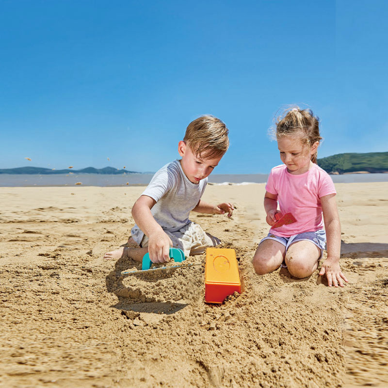 Set de Playa Constructor de Ladrillos