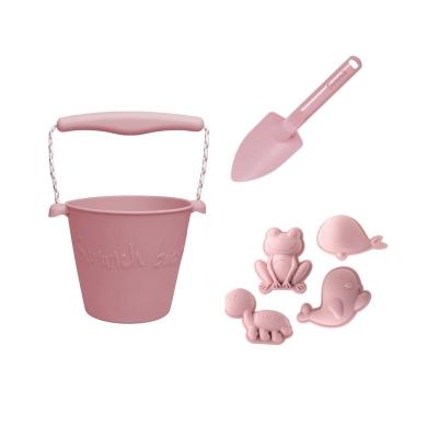 Set de Playa Scrunch Pink