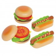 Set Hamburguesas y Hotdogs