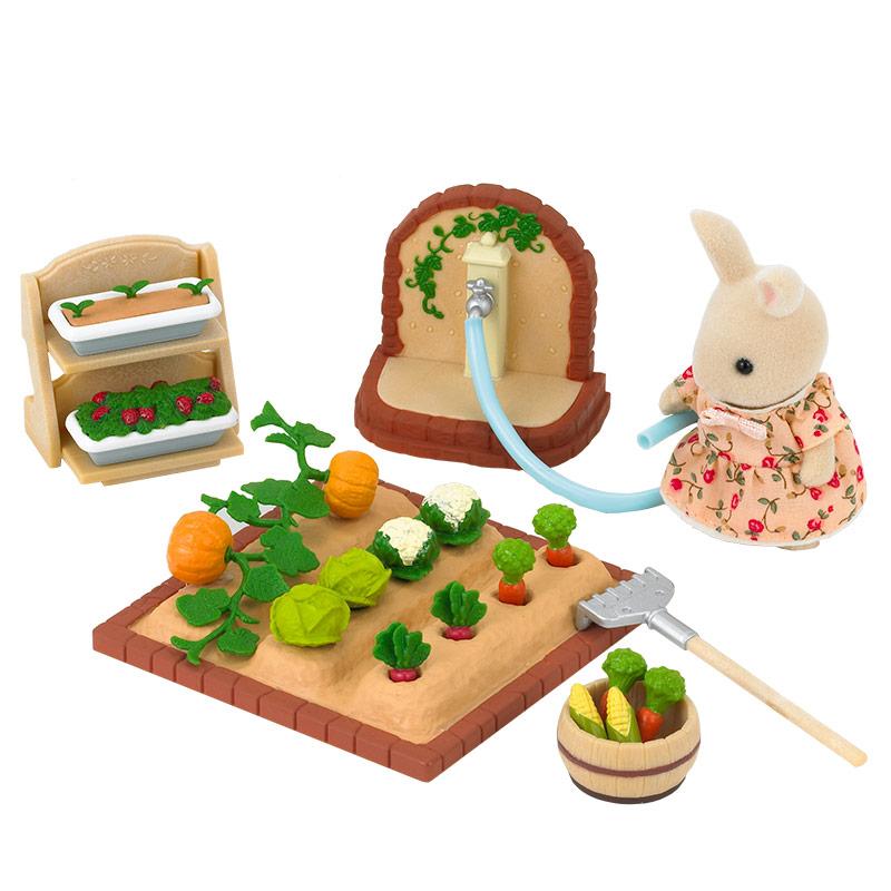 Set Jardín con Verduras