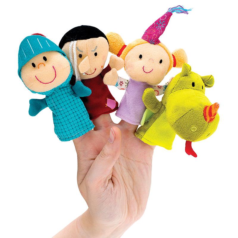 Set Marionetas de Dedo: Cuento de Hadas