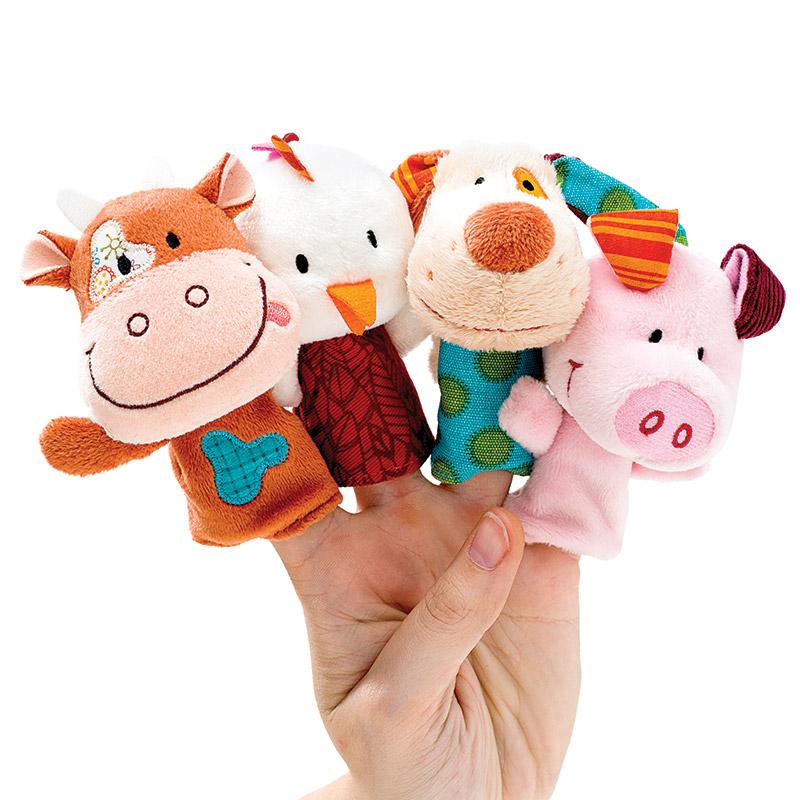Set Marionetas de Dedo: La Granja