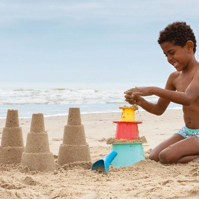 Set Playa con Moldes Apilables Alto