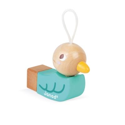 Silbato Pájaro Verde Janod Pocket