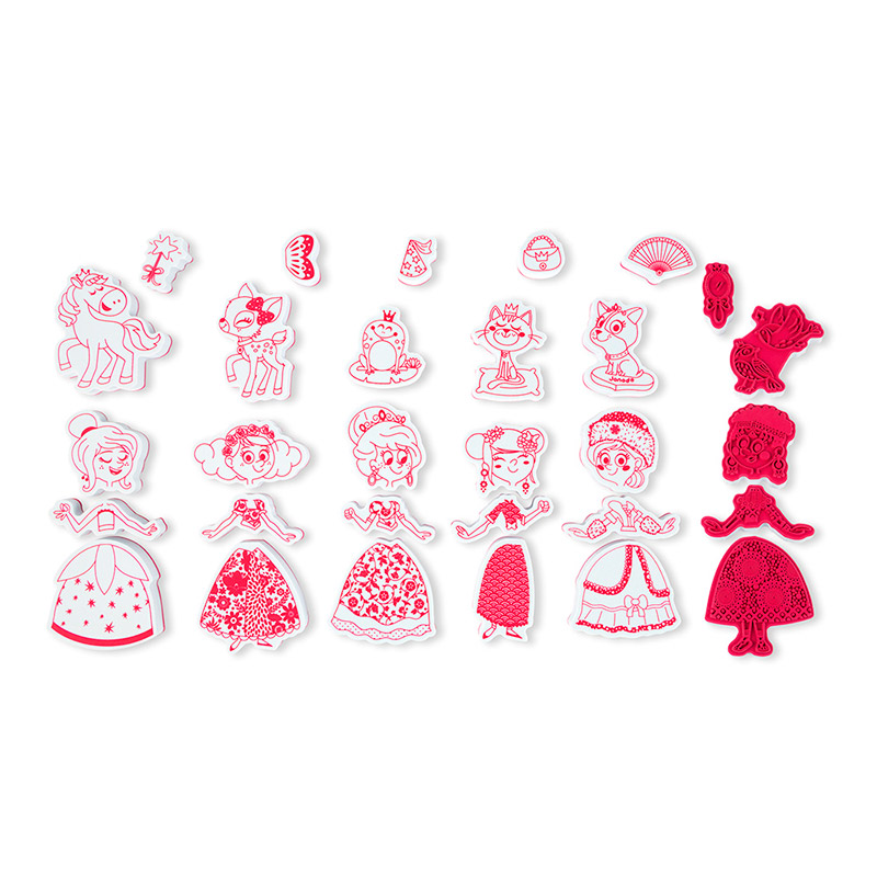 Stampinoo Set de 30 Tampones Ladies