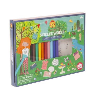 Sticker World: A la Moda