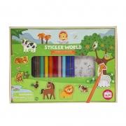 Sticker World: Animales