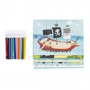 Sticker World: Piratas