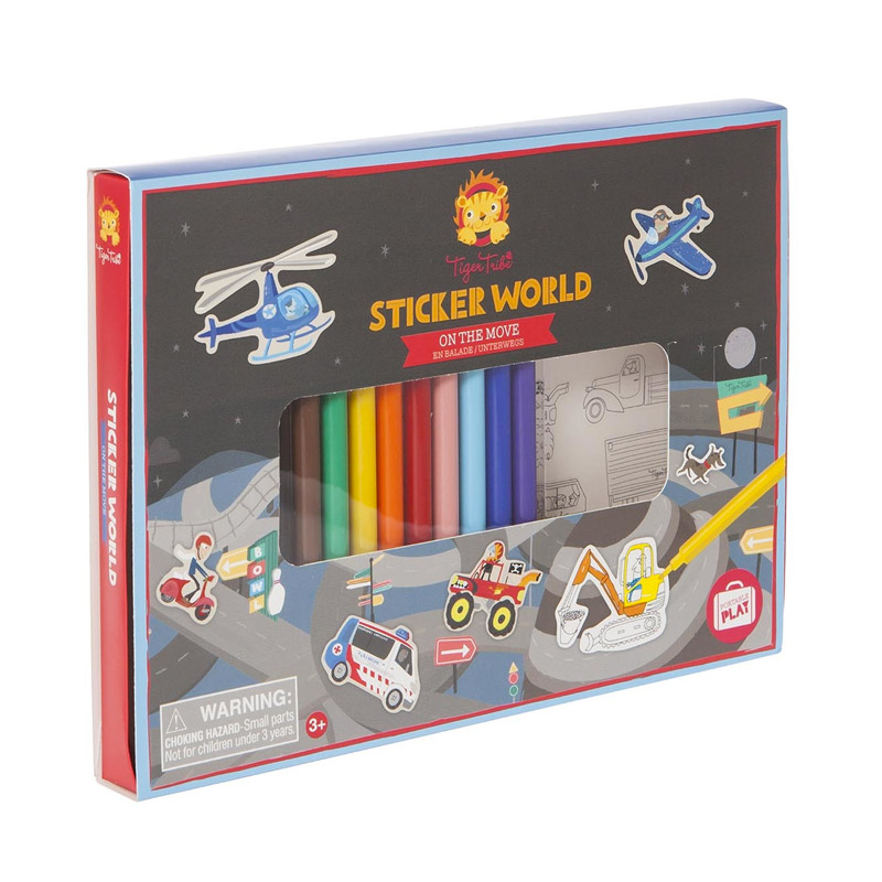 Sticker World: Vehículos
