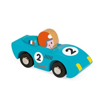 Story Racing Coche de Prueba de Velocidad Azul