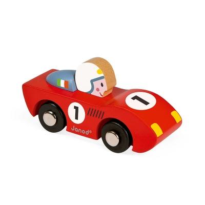 Story Racing Coche de Prueba de Velocidad Rojo