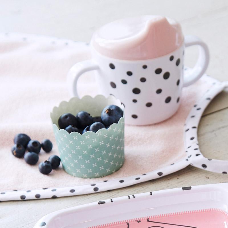 Taza de Aprendizaje: Happy Dots Rosa