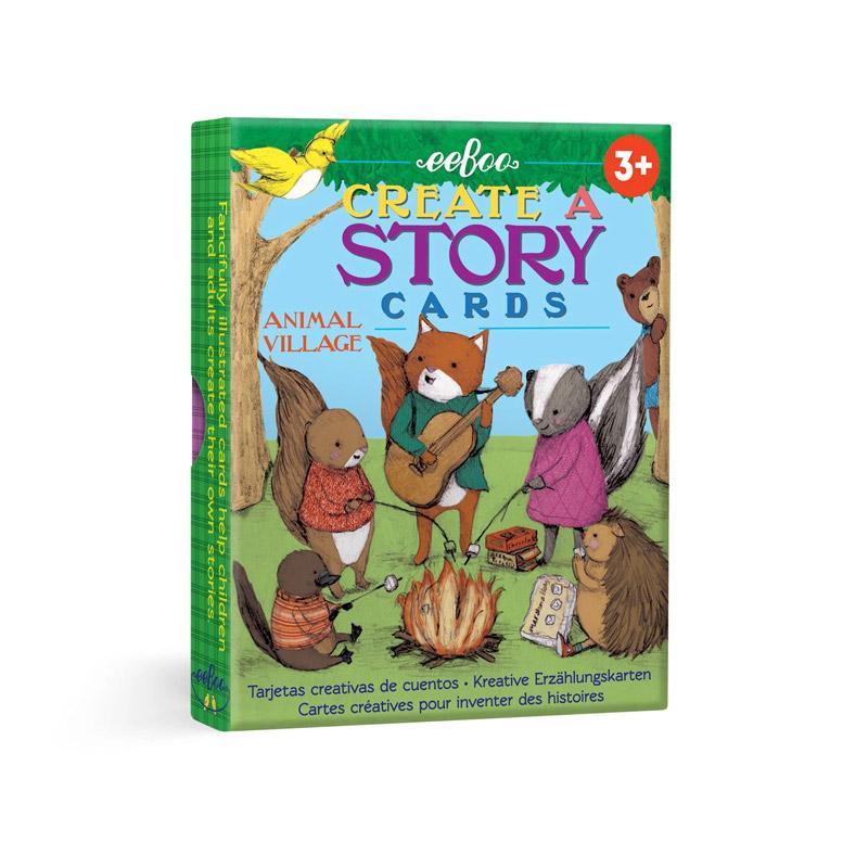 Create a story: Aldea de Animales