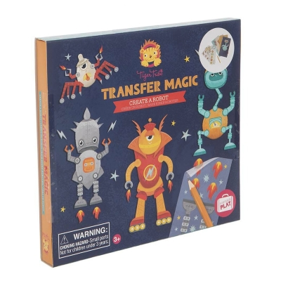 Transfer Magic: Crea Robots