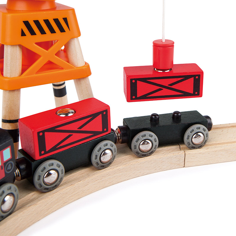 Tren de Mercancías a Vapor