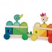 Tren Gigante Multicolor Zigolos