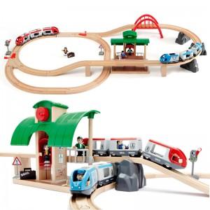Trenes con Intercambio de Vías