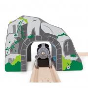 Túnel de Tren con Cascada