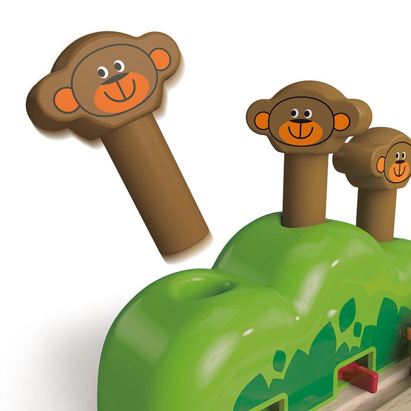 Vía de Tren: Monos Saltarines