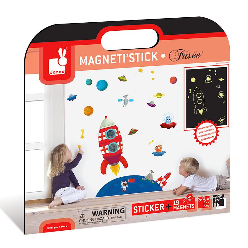 Vinilo MagnetiStick Cohete Fluorescente