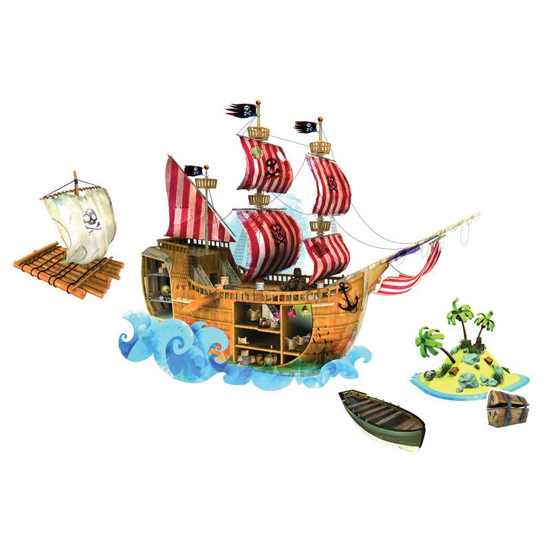 Vinilo MagnetiStick Piratas