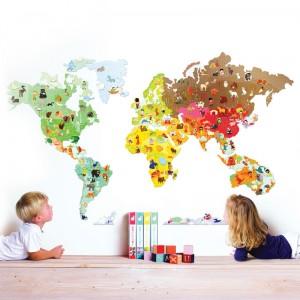 Vinilos MagnetiStick: El Mundo
