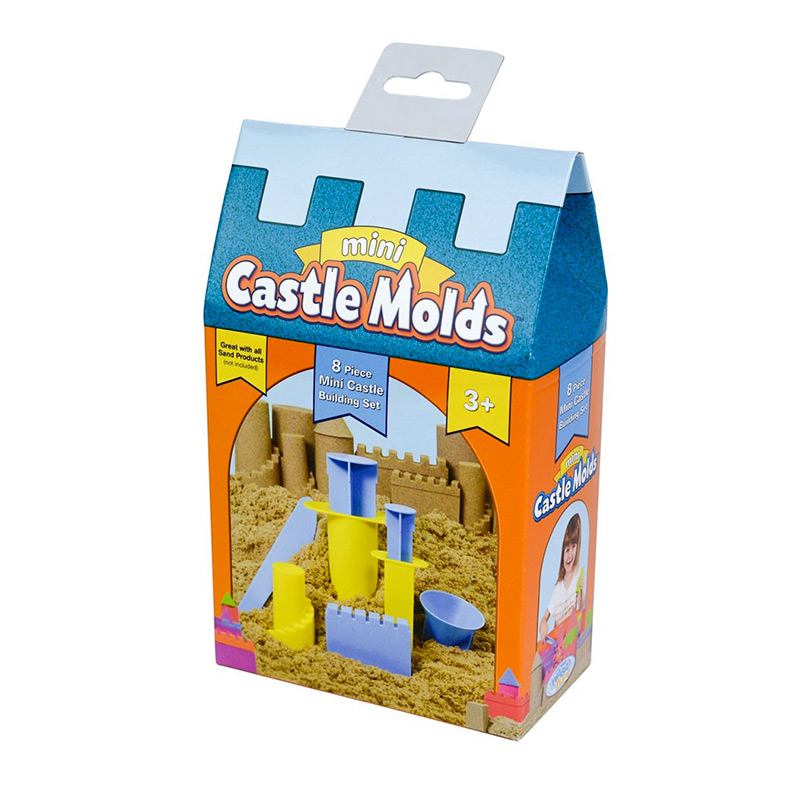 Kinetic Sand: Mini Moldes para Castillos