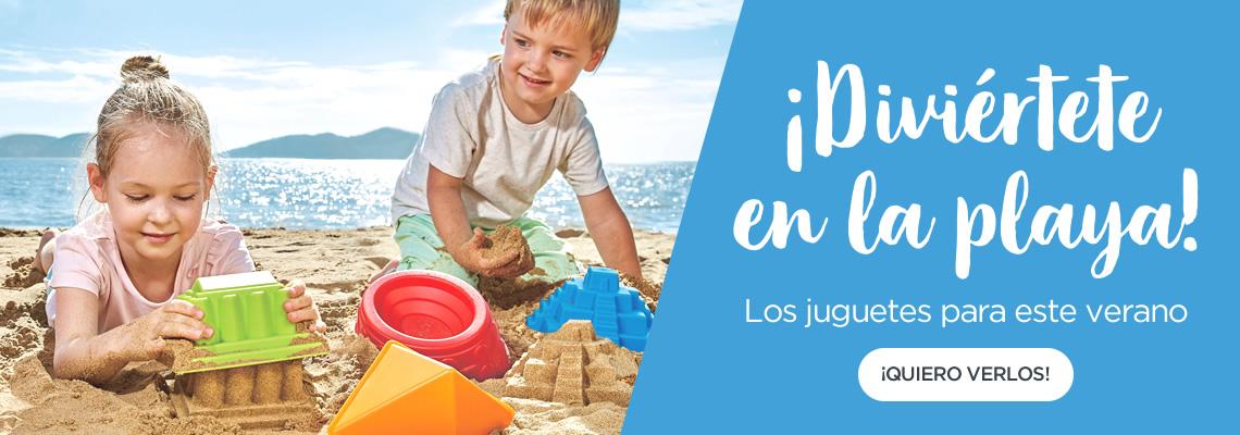 Juguetes para verano y playa