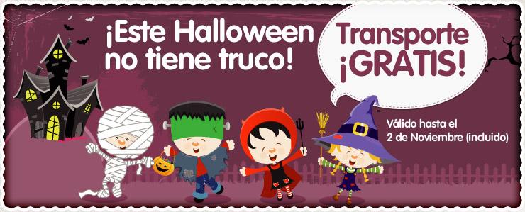 Transporte gratis - Especial Halloween