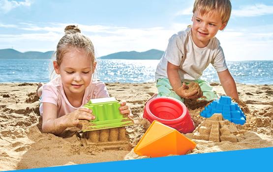 Juguetes para playa y verano