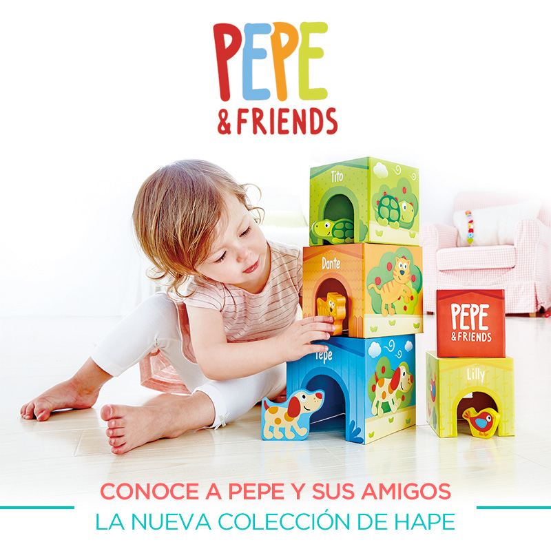 Pepe and Friends Hape