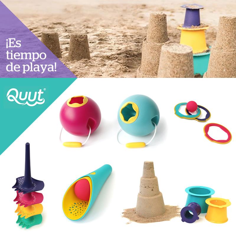 Juguetes playa Quut