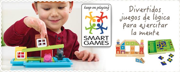 Juegos educativos Smartgames